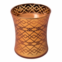 NEW! - Pumpkin Butter WoodWick Dancing Glass Candle