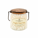 CLOSEOUT - Pumpkin Pecan Fudge Ltd Edition 16 oz. Wrapped Butter Jar by Milkhouse Candle Creamery | Milkhouse Candle Creamery Closeouts