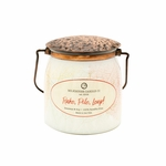 Rake, Pile, Leap! Ltd Edition 16 oz. Wrapped Butter Jar by Milkhouse Candle Creamery | Fall & Holiday Limited Edition  by Milkhouse Candle Creamery