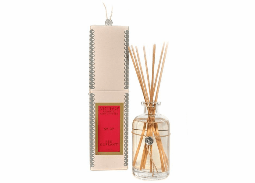 Red Currant Aromatic Reed Diffuser Votivo Candle