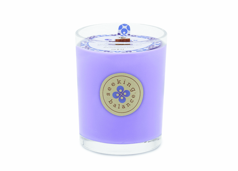 Relax (Geranium Lavender) Seeking Balance 15 oz. Large Spa Candle by Root
