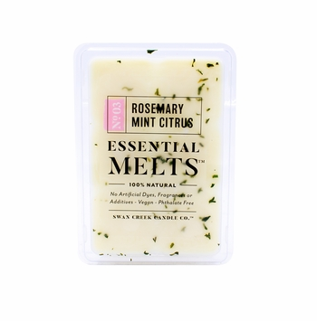 CLOSEOUT - Rosemary Mint Citrus 4.5 oz. Swan Creek Candle Essential Melts