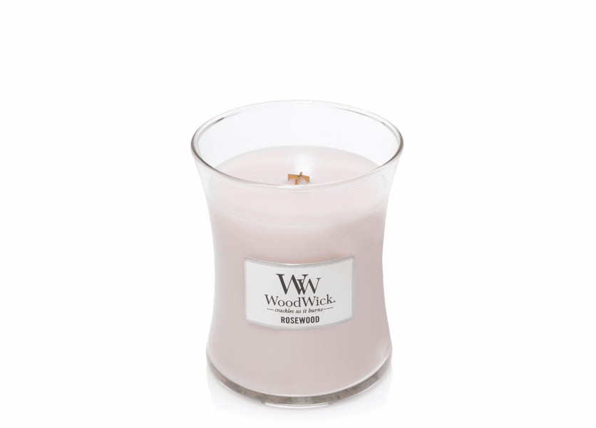 Rosewood WoodWick Candle 10 oz.