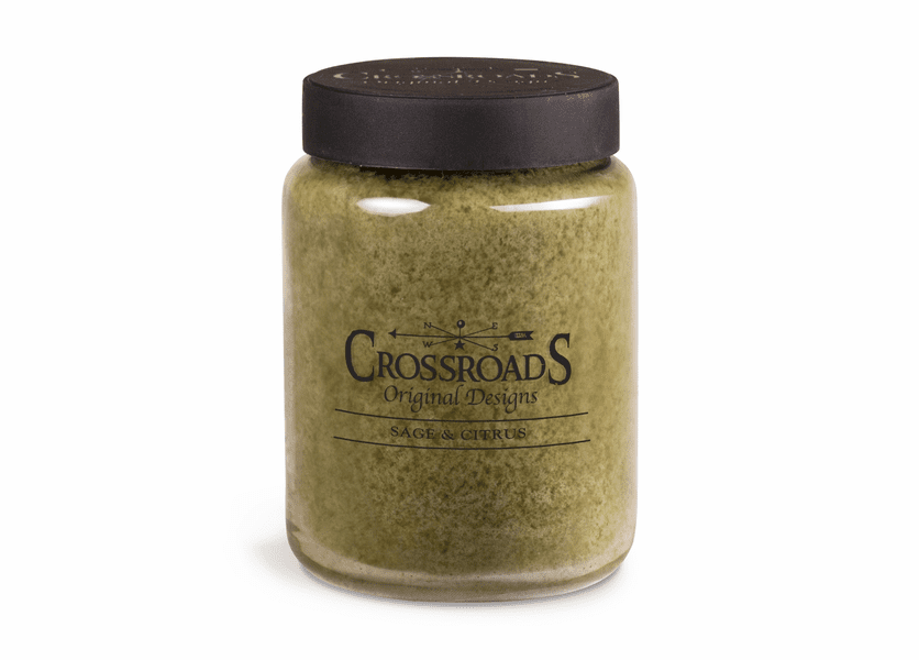 Sage and Citrus 26 oz. Crossroads Candle