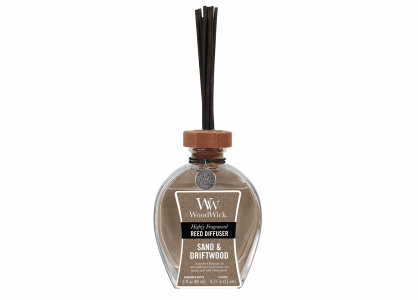 Sand & Driftwood WoodWick 3 oz. Reed Diffuser