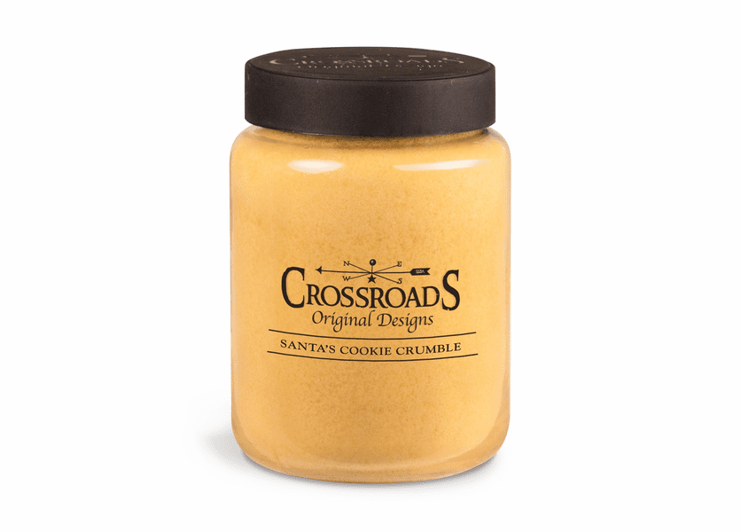 Santa's Cookie Crumble 26 oz. Crossroads Candle