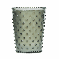 NEW! - Simpatico Fern Hobnail Glass Candles by K. Hall Studio