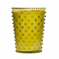 NEW! - Simpatico Fir & Grapefruit Hobnail Glass Candles by K. Hall Studio