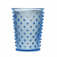 NEW! - Simpatico Lavender Hobnail Glass Candles by K. Hall Studio