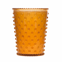 NEW! - Simpatico Pumpkin & Clove Hobnail Glass Candles by K. Hall Studio
