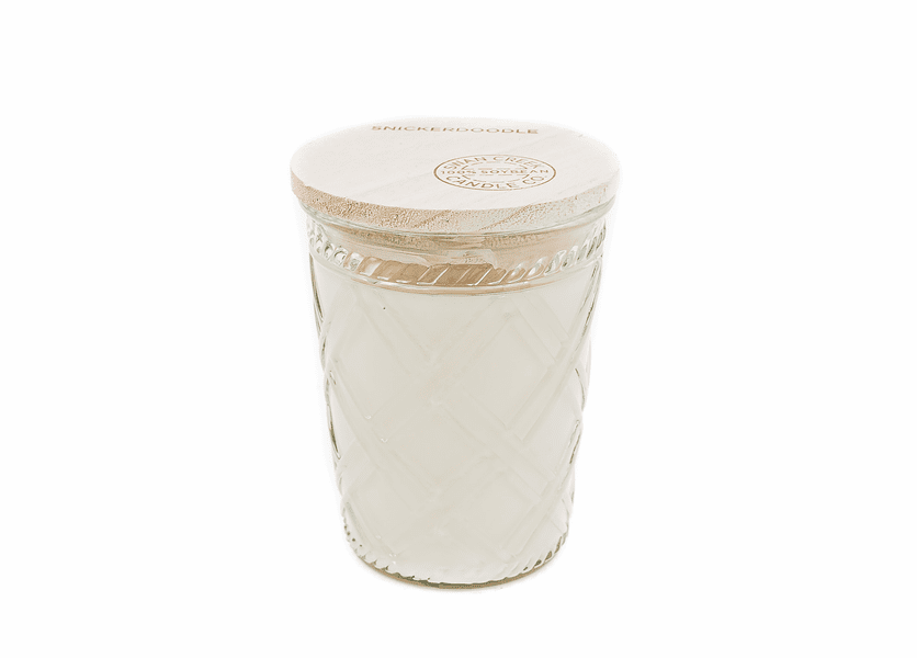 Snowflakes at Midnight 12 oz. Timeless Jar Swan Creek Candle