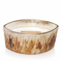 Spiced Blackberry Urban Harvest Gloss Glass Ellipse WoodWick Candle