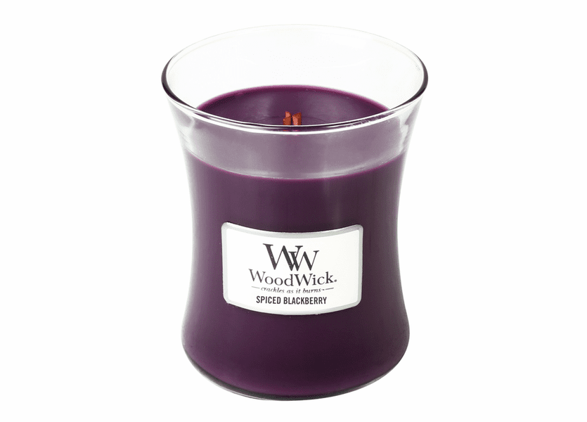 Spiced Blackberry WoodWick Candle 10 oz.
