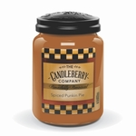 NEW! - Spiced Punkin Pie 26 oz. Large Jar Candleberry Candle | Large Jar Candles by Candleberry