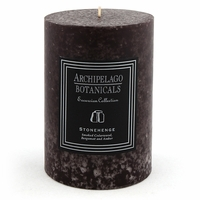 Stonehenge Large Pillar Candle by Archipelago