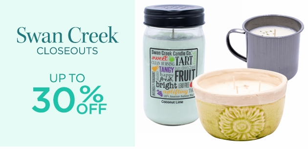 Swan Creek Candles Closeouts