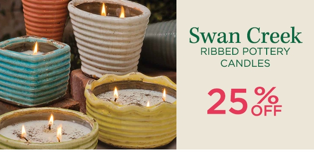 Swan Creek Ribbed Pottery Collection