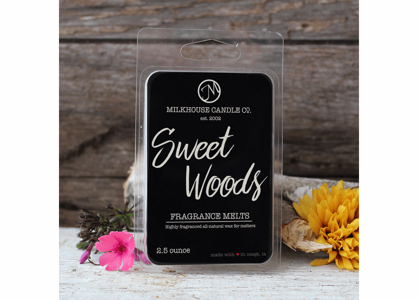 Sweet Woods Fragrance Melts by Milkhouse Candle Creamery
