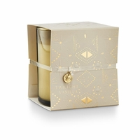 CLOSEOUT - Twilight Vanilla Wrapped Glass Illume Candle