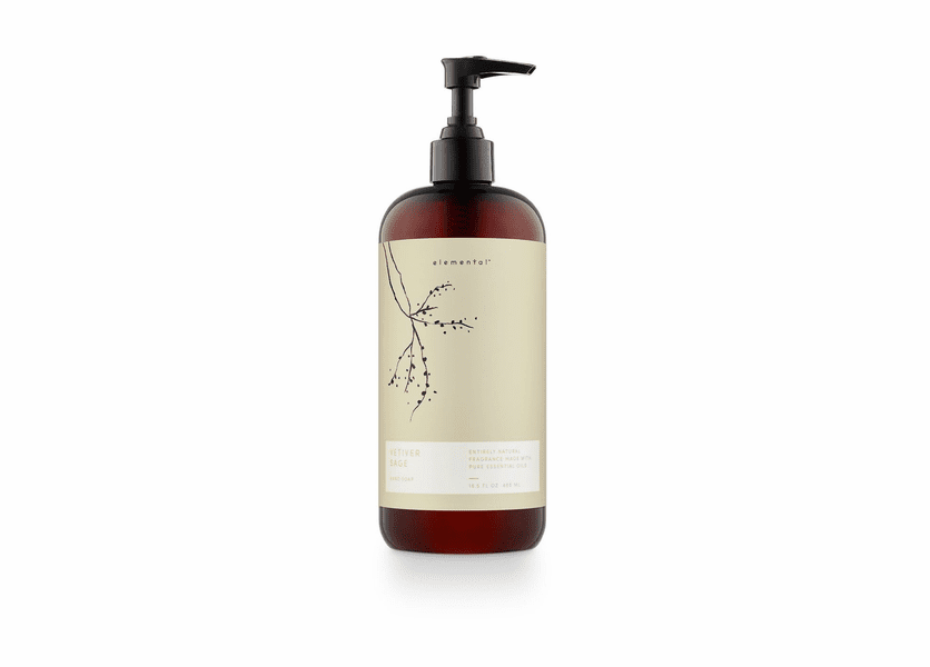 Vetiver Sage Elemental Hand Soap by Illume Candle