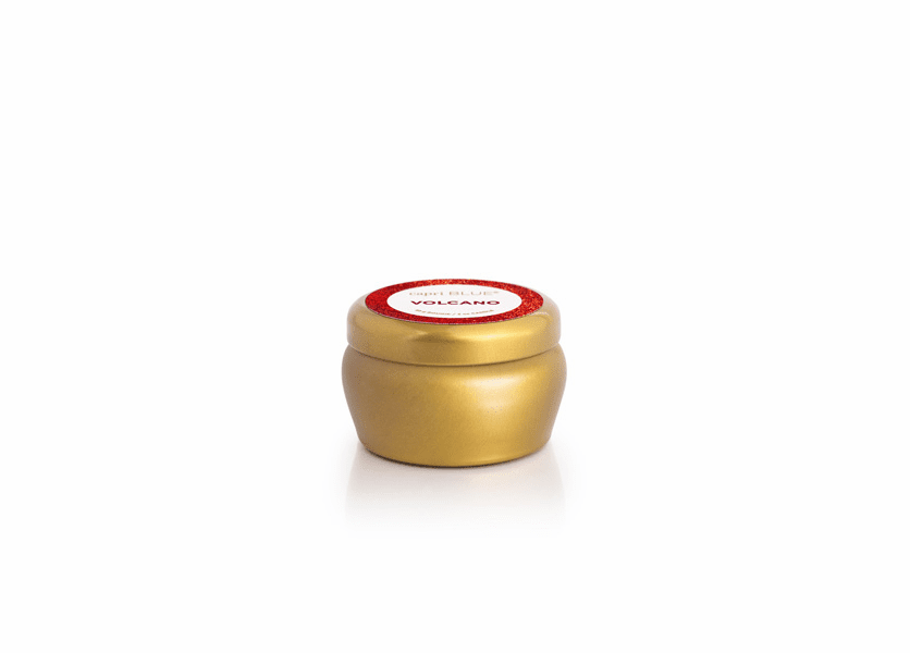 Volcano 3 oz. Glam Gold Mini Tin by Capri Blue