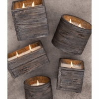 Weathered Woods Pottery Collection by Swan Creek Candle