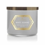 White Jasmine 14.5 oz. Luxe Trend Collection Colonial Candle | Luxe Collection Colonial Candle