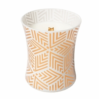 NEW! - White Tea Dancing Glass WoodWick Candle