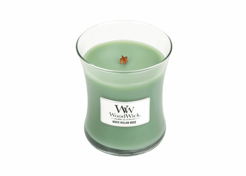 White Willow Moss WoodWick Candle 10 oz.
