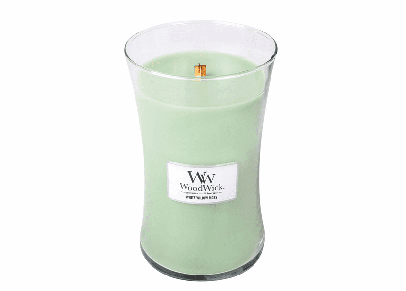 White Willow Moss WoodWick Candle 22 oz.