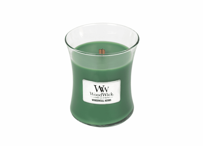 Windowsill Herbs WoodWick Candle 10 oz.