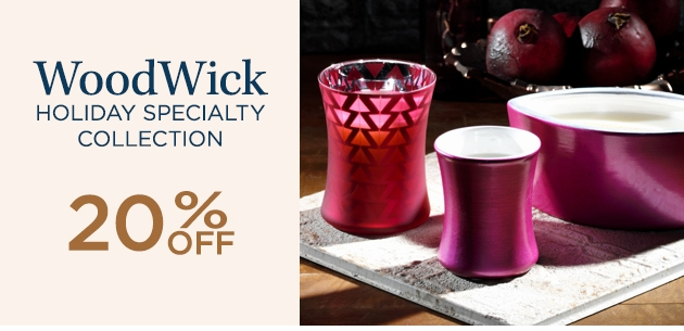 WoodWick Holiday Specialty Collection
