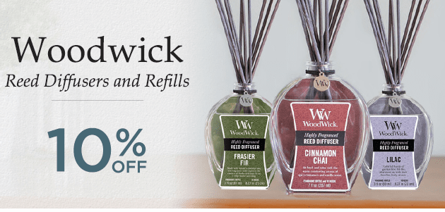 WoodWick Reed Diffusers & Refills