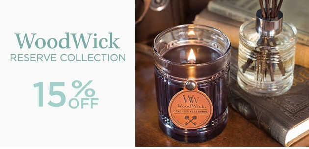 WoodWick Reserve Collection