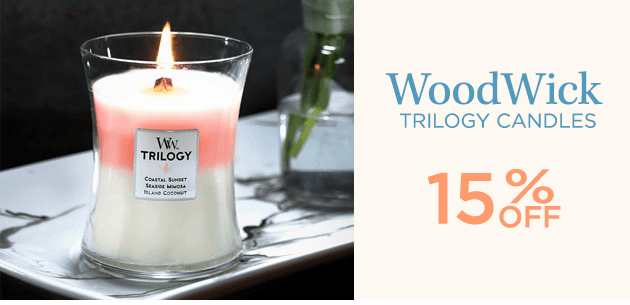 WoodWick Trilogy Candles