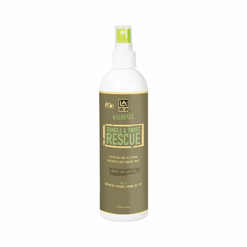 Long Aid Naturals Tangle & Twist Rescue Mist Spray 8oz