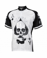 Deal With It Ace of Spades Skull Jersey