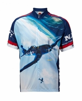 Navy Corsair Cycling Jersey