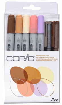 Copic People Doodle Kit