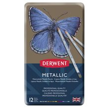 Derwent Metallic Pencil Set of 12