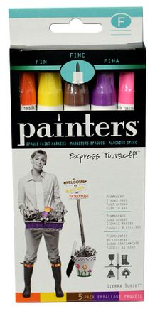 Elmers Painters - Sierra Sunset Fine Tip Set of 5