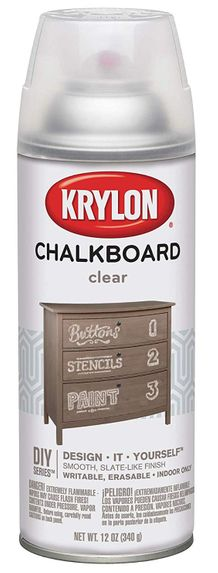 Krylon Clear Chalkboard Paint- 12oz Spray-On