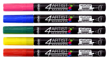 Pebeo 4ARTIST Marker- 2mm Colors Set
