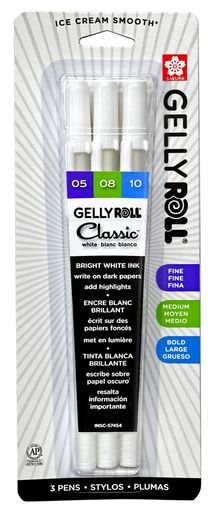 Sakura Gelly Roll Classic White 3-Pack (05/08/10)
