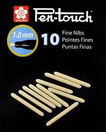 Sakura Pen-touch Replacement Tips- Fine- Pack of 10