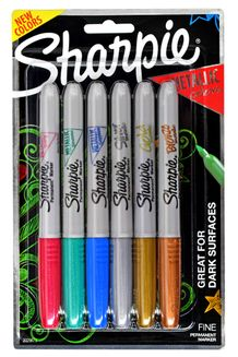 Sharpie Fine Point Metallic Set of 6