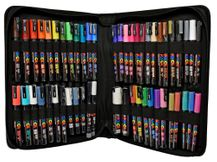 Ultimate Posca Marker Rock Decorating Set in Zip Case