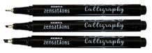 Zebra Zensations Calligraphy Pen 3-Pack