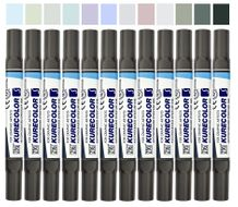 Zig Kurecolor Twin S Set of 12- Blending Blues
