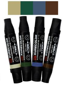 Zig Kurecolor Twin- Earth Tones 4-Pack